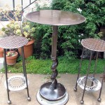 Joe Brooks Iron Art: Table & Chairs